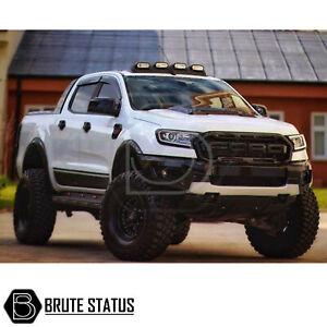 Ford Ranger 2015+ Rallye Style Bonnet Scoop Vent (T7 T8 Raptor Hood Cover)