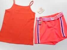 Girls outfits Girls sports shorts Girls tops Shirts Peachy Coral 2 pc 7/8
