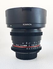 Rokinon 8mm T3.8 Cine UMC Fisheye CS II Lens for Nikon F Mount