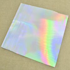 10pcs A4 PET Self Adhesive Print Hologram Sticker label Paper Blank For Laser