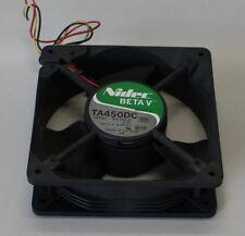 04-13-01524 Lüfter Nidec BetaV TA450DC B31256-81 12V 0,49A 0Z27VH 120x120x40mm