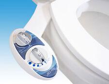 Non-Electric Fresh Water Spray Bidet Toilet Seat Adjustable Attachment SelfClean