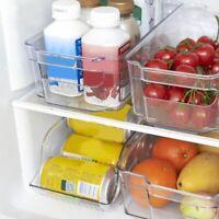 Plastic Food Container Fresh Spacer Layer Storage Rack Refrigerator Organizer