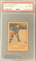 1951 1952 PARKHURST Jack Evans PSA 4 VG Ex Very Good To Excellent #90 HOCKEY