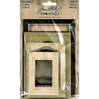 Baseboard Frames Bookboard - Tim Holtz Ideaology Th Crafting Mixed Media