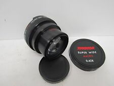 Zykkor Super Wide Angle 0.42x w/ Macro Focusing Lens S7 52mm Camera Lens FIS P13