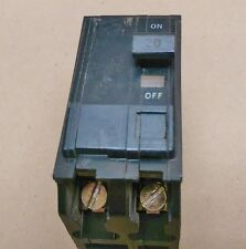Square D Circuit Breaker 20A QO2 pole  LK-6945  #2908