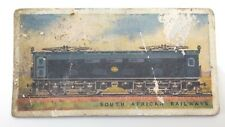 South African Railway Engines Imperial Tobacco Card 34 Trains F046