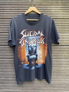 SUICIDAL TENDENCIES, shirt, vintage, 1990, you cant bring me down
