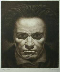 Rudolf Pokorny (Wien 1892-1951) Beethoven.