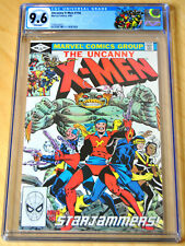 Uncanny X-Men #156 CGC 9.6 (Starjammers App) (WHITE PAGES) X-MEN LABEL INCLUDED!