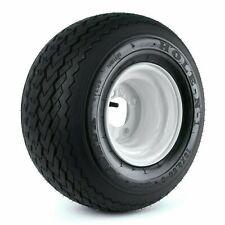 "Kenda Hole-N-1 White 8"" x 7"" 4-Hole Wheel and (18x8.50-8) Tire Combo"