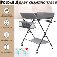 Changer Unit Table Folding Nursery Changing Station Bath Mat And Storage