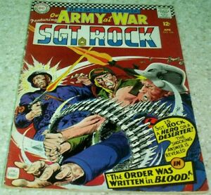 Our Army at War 166, FN- (5.5) 1966 Kubert! 50% off Guide!
