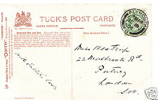 Genealogy Postcard - Family History - Westrup - Putney - London  BX774