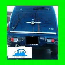 2000-2011 CHRYSLER PT CRUISER PRECUT CHROME TRUNK TAILGATE TRIM MOLDING WARRANTY