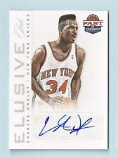 CHARLES OAKLEY 2011/12 PANINI PAST PRESENT ELUSIVE INK AUTOGRAPH AUTO