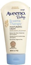 Aveeno Baby Eczema Therapy Cream, Fragrance Free 5 oz (140 g), Original from USA