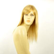 Perruque femme mi-longue blond clair doré VERA LG26