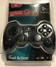 New In Package Logitech Dual Action Gamepad USB Black Controller