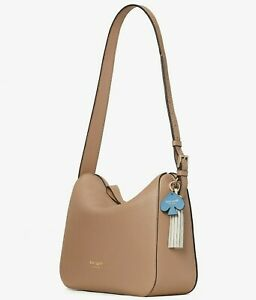 Kate Spade Anyday Medium Shoulder Bag Beige Leather PXR00248 Pecan NWT $298 FS
