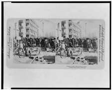 Photo of Stereograph,Chinese Coolies,Hong Kong,China,c1896,Laborers ,Street 7337