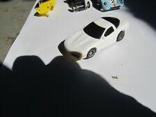 ORIGINAL TYCO 440 X 2 HO SLOT CAR. WHITE 98 CORVETTE.  MINT.