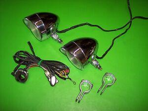 08 Honda Shadow Aero VT750C 750 Pair Driving Passing Lights Left Right wiring