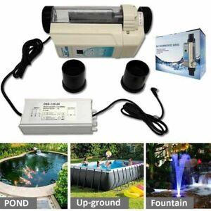 Salt Chlorine Generator Pool Spa Water Complete Salt Chlorinator System For ≤40㎡