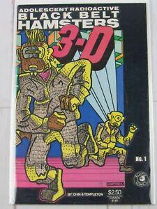 Adolescent Radioactive Black Belt Hamsters 3-D #1 July 1986 Eclipse Comics