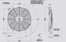Spal Lüfter Hochleistungslüfter 310mm 1290 cbm h blasend VA09-AP8/C-27S
