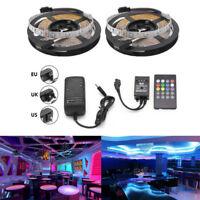 32.8Ft 10M SMD 3528 300 Led Strip Light RGB Music Control Kit with Power Supply