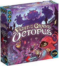 NIGHT OF THE GRAND OCTOPUS - Board Game (Iello Games) #NEW