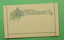 DR WHO NETHERLANDS LETTER CARD STATIONERY UNUSED C239539