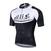 Men's Cycling Jersey Clothing Bicycle Sportswear Short Sleeve Bike Shirt Top F85