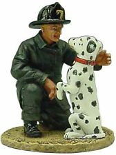 Del Prado 1/32 Figure Fireman W/dalmatian-San Francisco USA 1930 BOM057