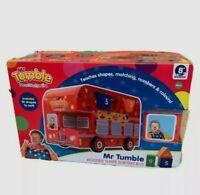 Mr Tumble 9095 Bus Wooden Shape Sorter Bus Toy Nursery