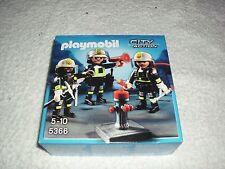 Playmobil 5366 Fire Rescue Crew Con Accesorios-Nuevo