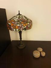 Lampada TIFFANY originale - altezza 39 cm - diametro 30