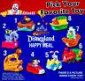 McDonald's 1995 DISNEYLAND ADVENTURE VIEWER Slide Disney Ride YOUR Toy CHOICE
