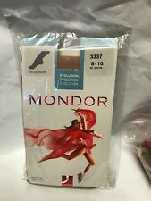 Mondor Model 3337 Foot Girls Skating Tights - White and blue Package