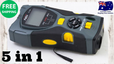 GENUINE NDI 5 in 1 Multifunction Gauge Stud Finder + Distance Meter +Laser Level