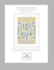 MINI SPRING COUNTED CROSS STITCH KIT by RIVERDRIFT HOUSE