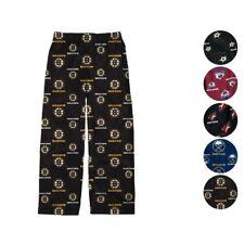 "NHL ""All Over Print"" Team Color Lounge Pajama Pants Boys Youth (4-18)"