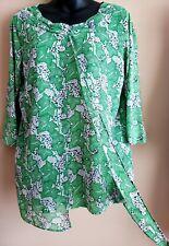 "Womens blouses size largeBust measure :40"",length:26"""
