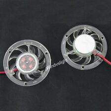 12V 2 Pin PC VGA Graphics Video Card Heatsink Cooler Round Cooling Fan Dia 48mm