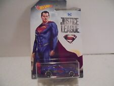 Hot Wheels DC Justice League Superman Power Pro Diecast Car 1/7 Collectible