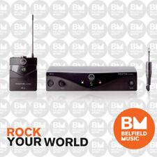 AKG Perception Wireless Microphone System Instrument Set - MKGL Cable - BNIB -BM