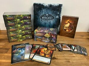 World Of Warcraft Trading Card Game Bulk Lot WOW Onyxia's Lair Raid Deck Etc