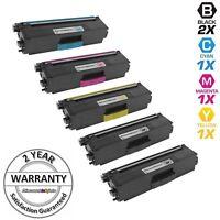 5 Toner Cartridge for Brother TN-336 TN336 HL-L8350CDW MFC-L8850CDW MFC-L8600CDW